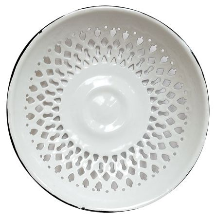 Enamelware bread plate