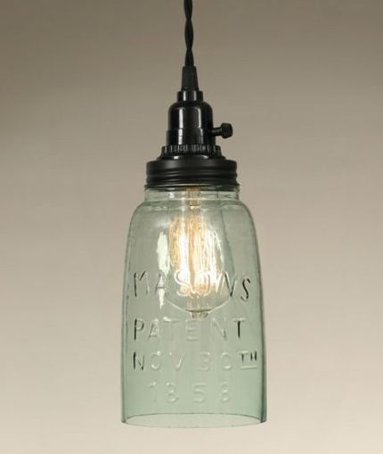 Mason jar lamps