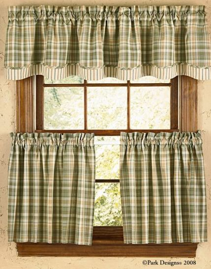 Rosemary curtain tiers