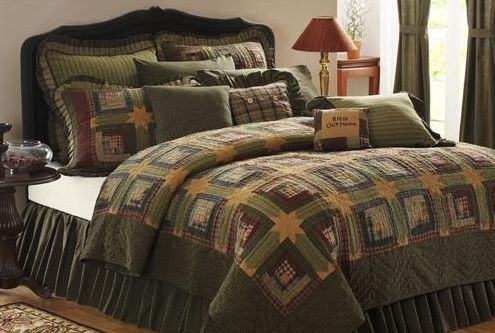 Tea Cabin bedding