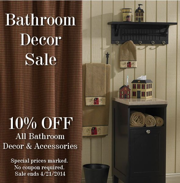 Bathroom sale