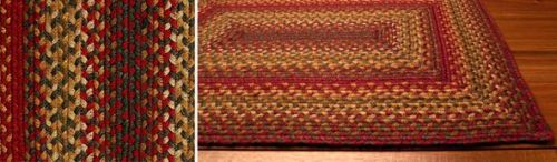 Cider Barn braided jute rugs