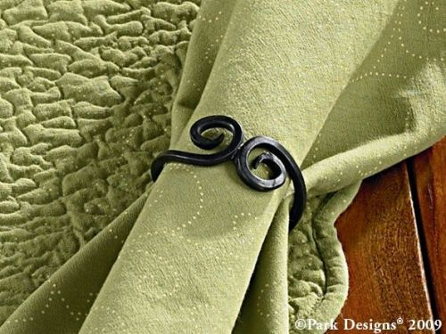 iron knotted napkin ring