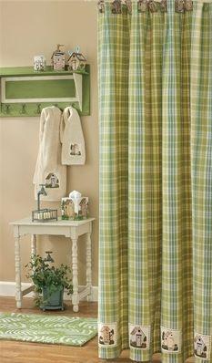 Kinsington Outhouse shower curtain
