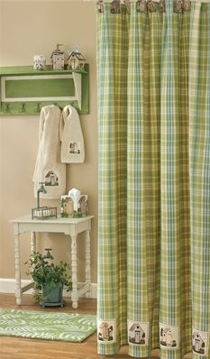 Kinsington Outhouse shower curtain