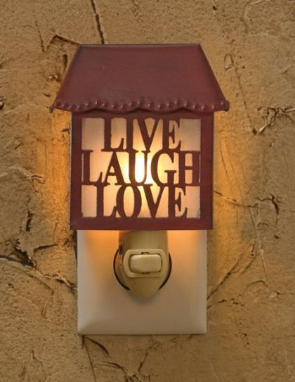 Live Laugh Love nightlight