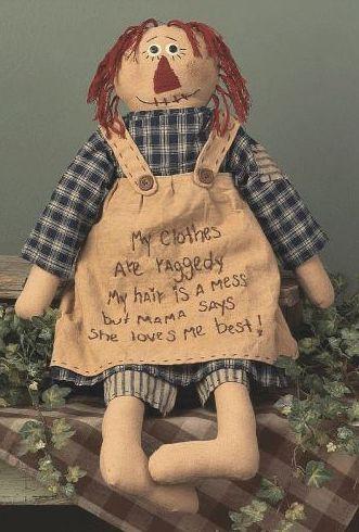 mama's best raggedy ann doll