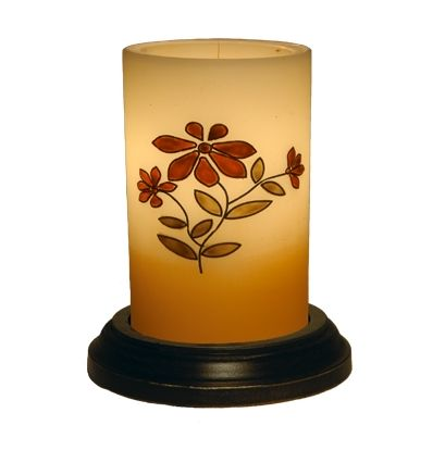 Prairie Bouquet candle sleeve