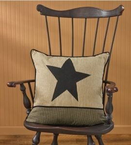 Primitive Star Pillow