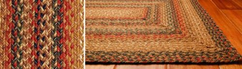 Timber Trail braided jute rugs