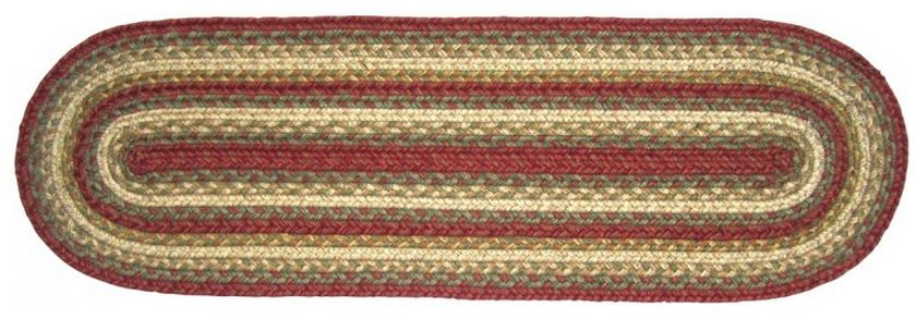 Aberdeen braided table runner