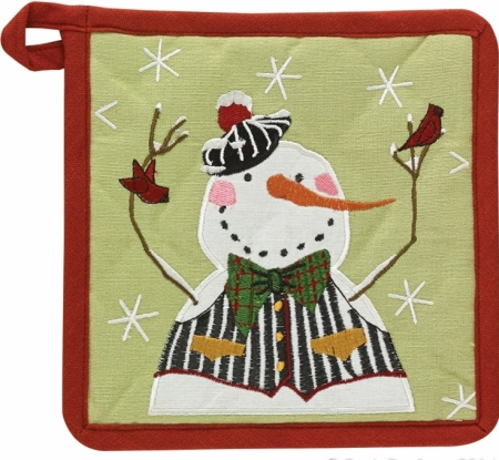 Winter Buddies Pot Holder