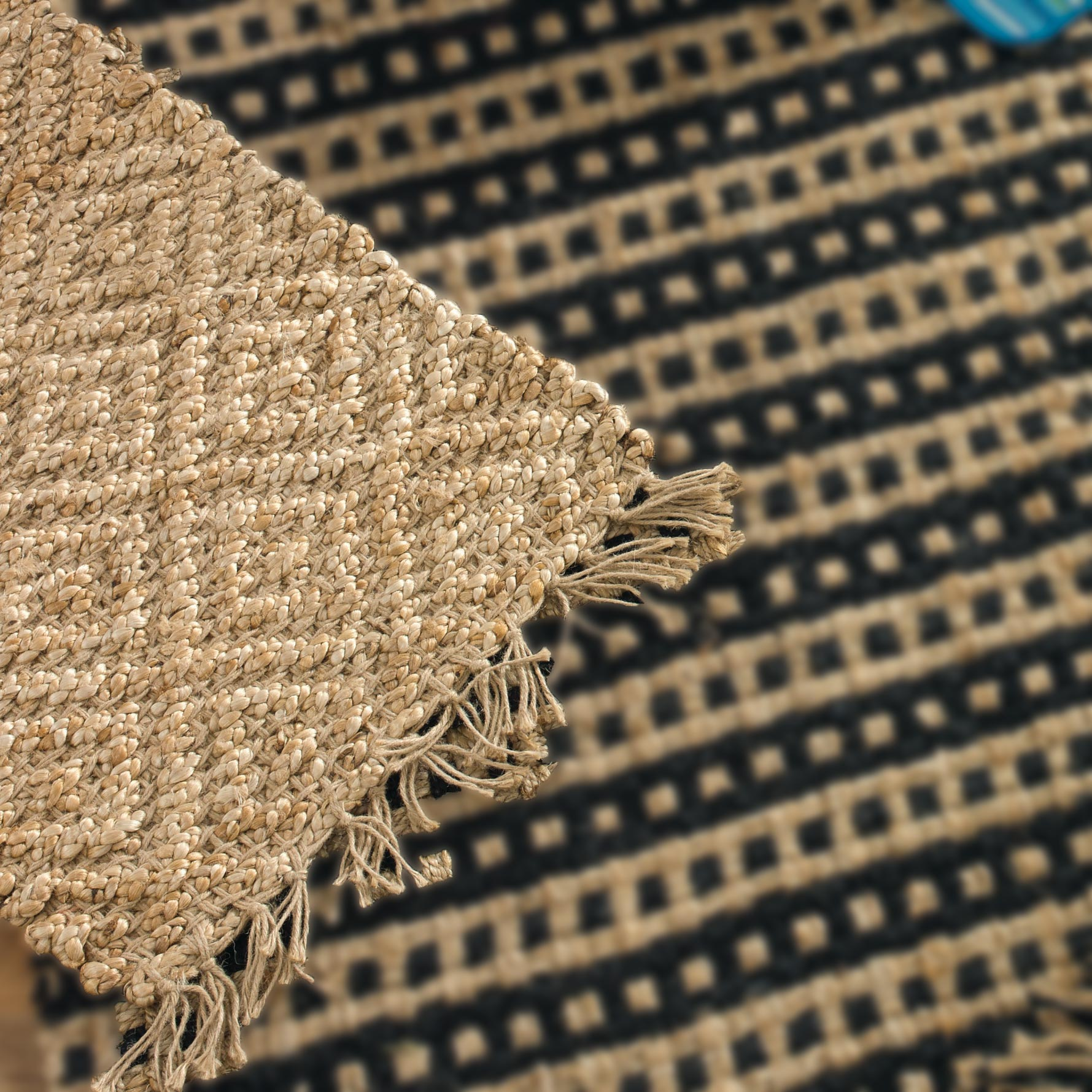 jute rugs primitive home decors