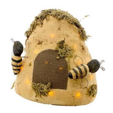 WTT-TDA74525-Bubble-Bee-Plush-LED-Beehive