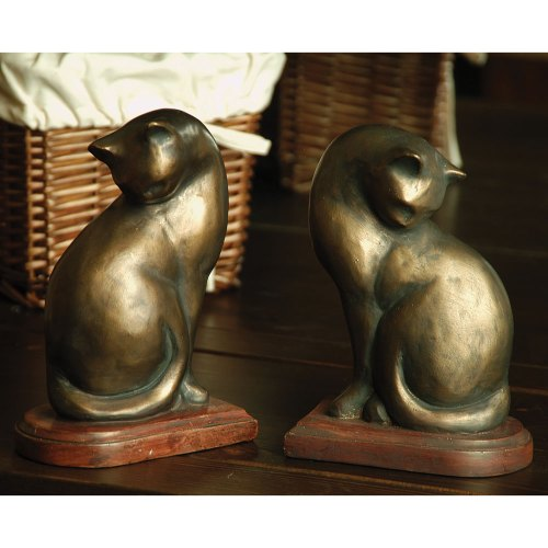 SPI-50300-Cat-Bookends-Pair-LRG