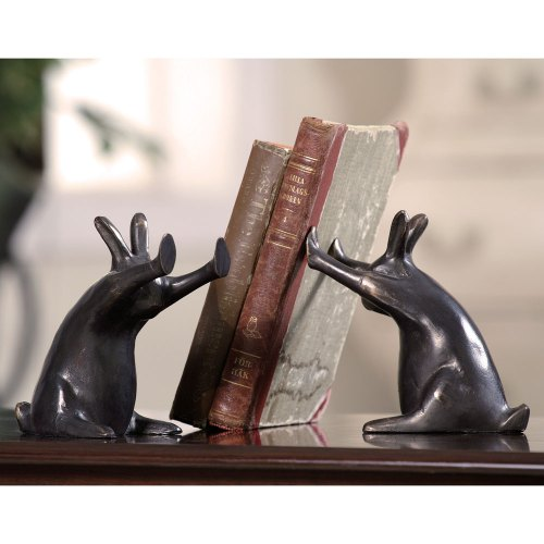 SPI-50444-Rabbit-Pushing-Books-Bookends-LRG