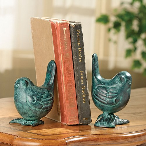 SPI-50454-Bird-on-Branch-Bookends-Pair-LRG