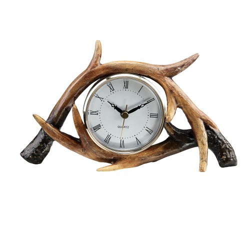 SPI-50707-Antler-Table-Clock-LRG