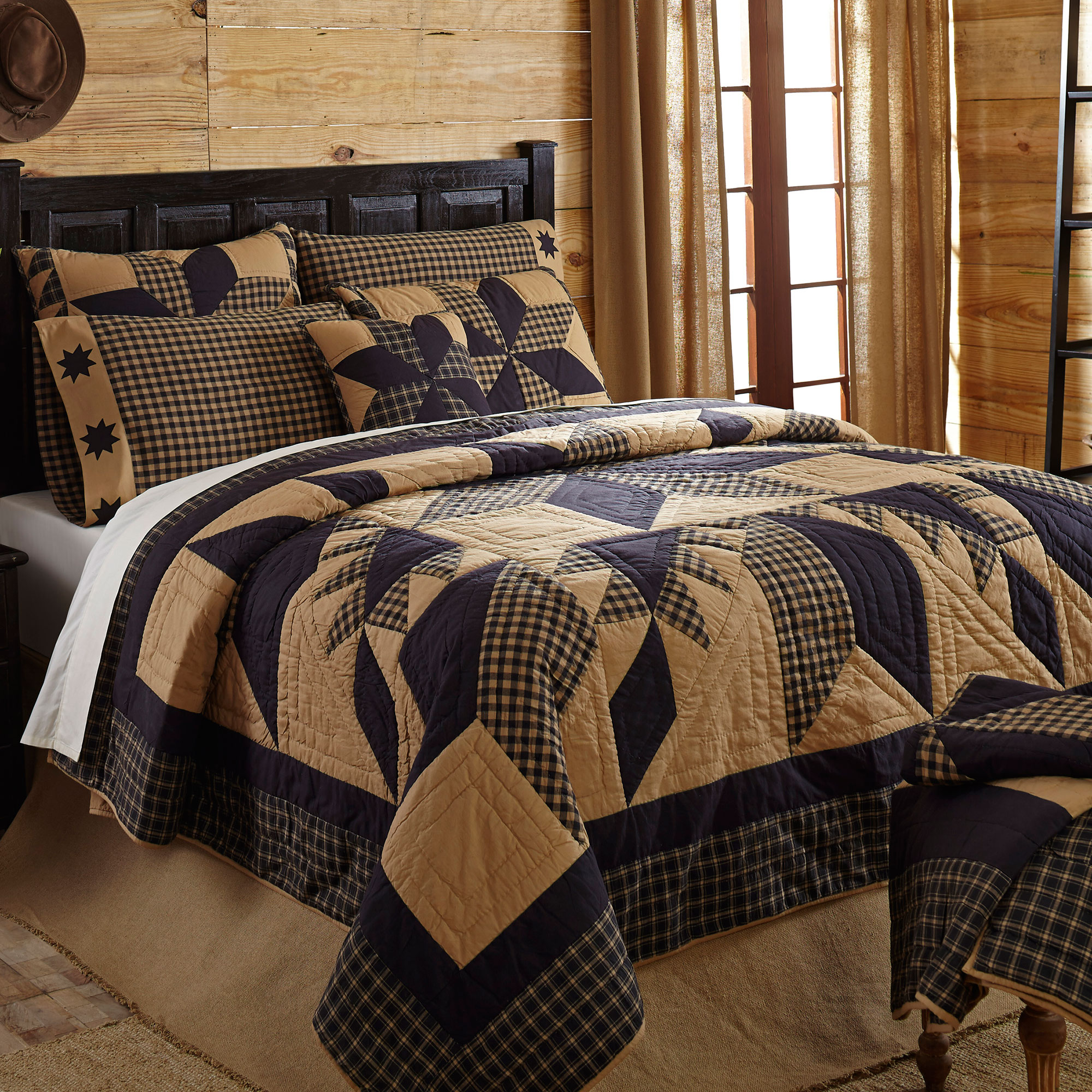 Country Home Decor This Just In Dakota Star Quilted Bedding