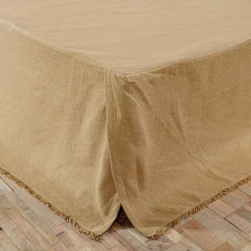 VHC-17129-Burlap-Natural-Fringed-King-Bed-Skirt-LRG