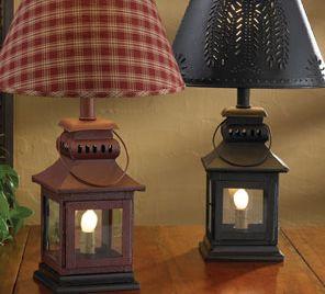 Iron Lantern Lamps