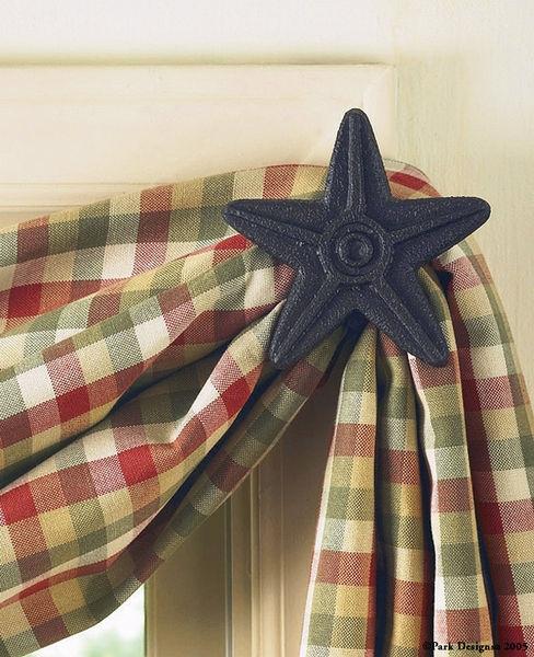 22-601R-Black-Star-Cast-Iron-Curtain-Hook_LRG