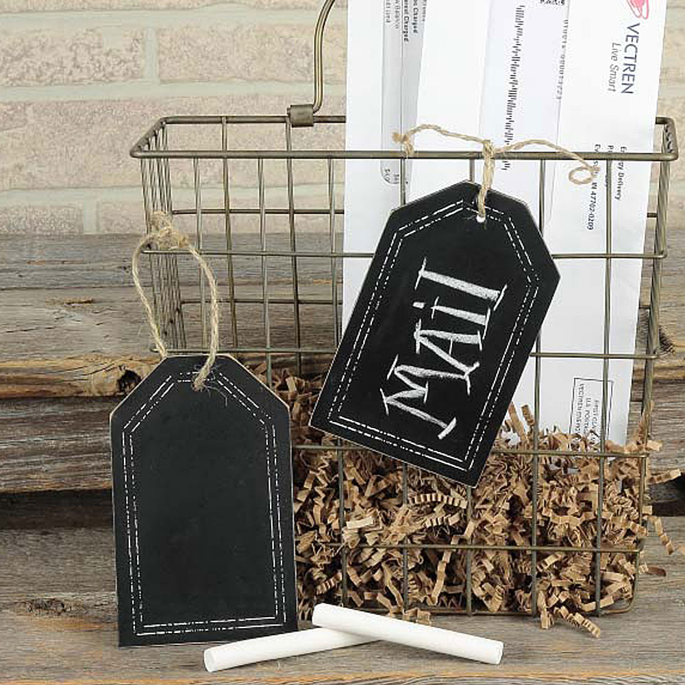 country home decor primitive home decors page 6 ham e14880 chalkboard wooden tag lrg