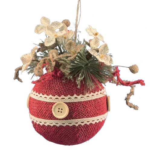 WTT-FX49307LG-Large-Red-Ball-Ornament-LRG