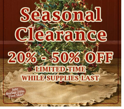 seasonal clearance banner
