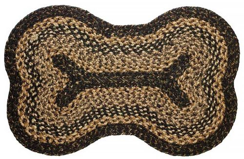 IHB-251-DOG-Black-Forest-Braided-Dog-Bone-Rug-LRG