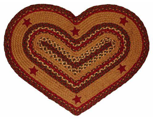 IHB-253-HRT-Cinnamon-Star-Heart-Shaped-Braided-Rug-LRG