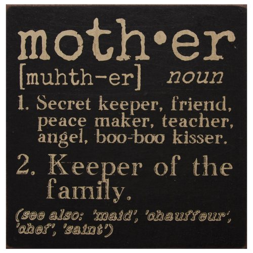 HRS-32627-Mother-Definition-Sign-LRG