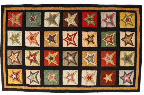 HSD-Star-Patch-Sampler-Penny-Rug-LRG