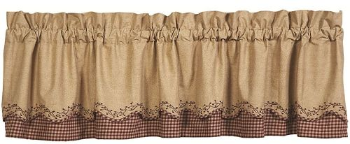 IHF-178-SLV-Checker-Berry-Scalloped-Layered-Valance-LRG