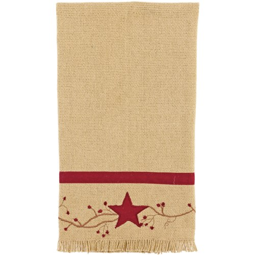 CHC-90795-Primitive-Star-Vine-Cotton-Burlap-Towel-LRG