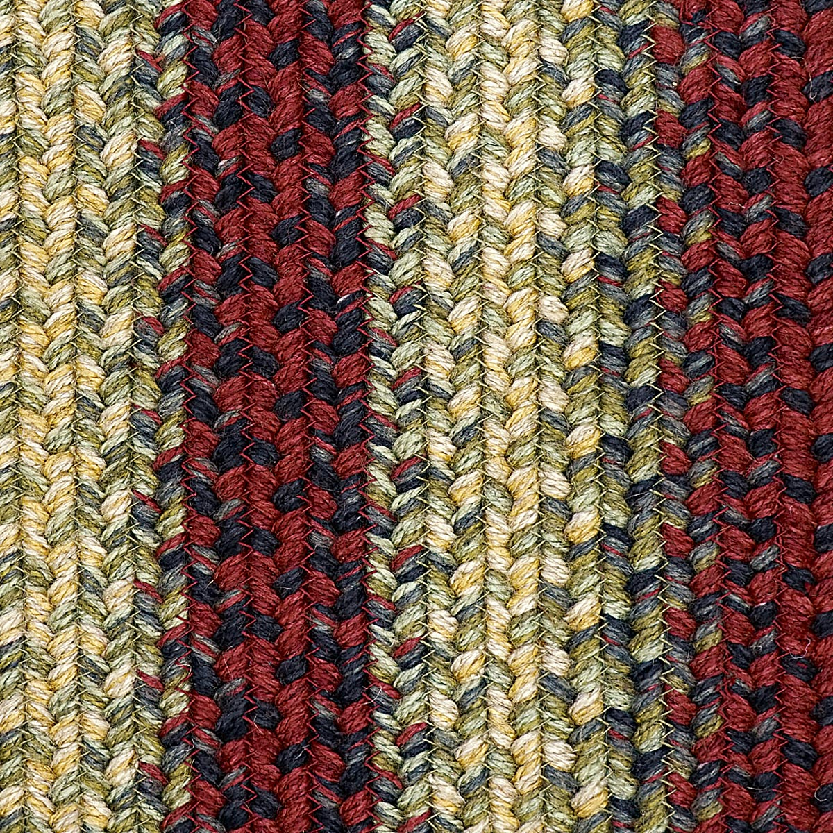 HSD Flagstaff Rectangle Ultra Wool Braided Rug Swatch LRG