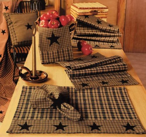 IHF-134-N-BL-Vintage-Star-Black-Napkin_LRG