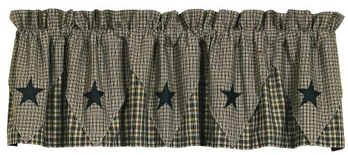 IHF-134-PVL-BL-Vintage-Star-Black-Point-Valance-LRG