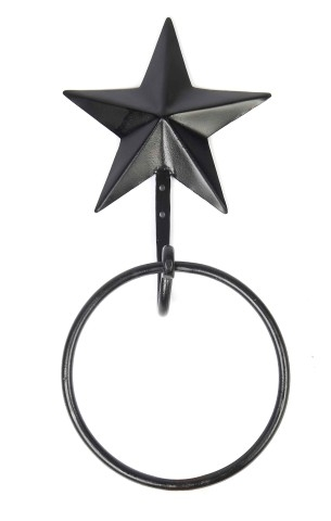MWRE28-Black-Star-Towel-Ring_LRG