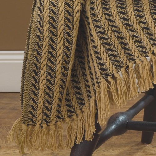 PKD-101-22BT-Black-and-Tan-Cable-Throw-Blanket-LRG