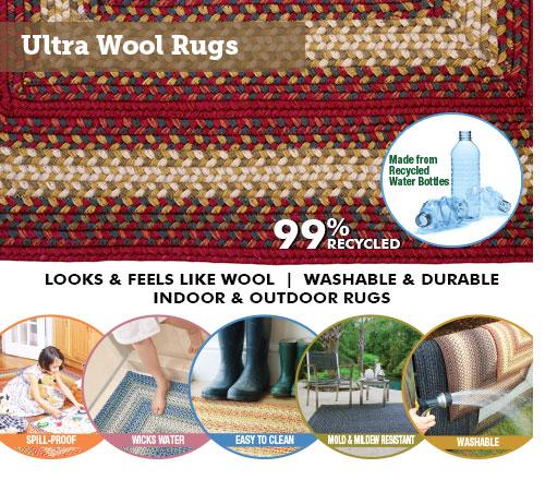 Ultra wool rugs