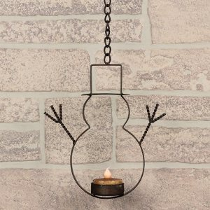 ham-c14591-hanging-snowman-with-tealight-holder-lrg