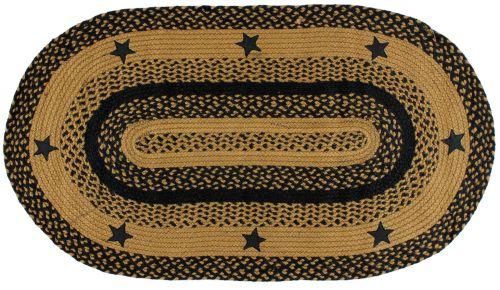 ihb-197-black-star-oval-baided-rug-lrg