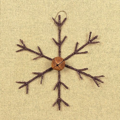 ham-c14460-medium-rustic-snowflake-with-bell-ornament-lrg