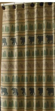 bear-tracks-shower-curtain
