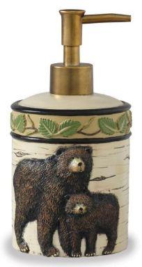 black-bear-soap-dispenser