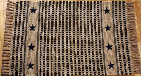 vintage-star-black-cotton-woven-rug